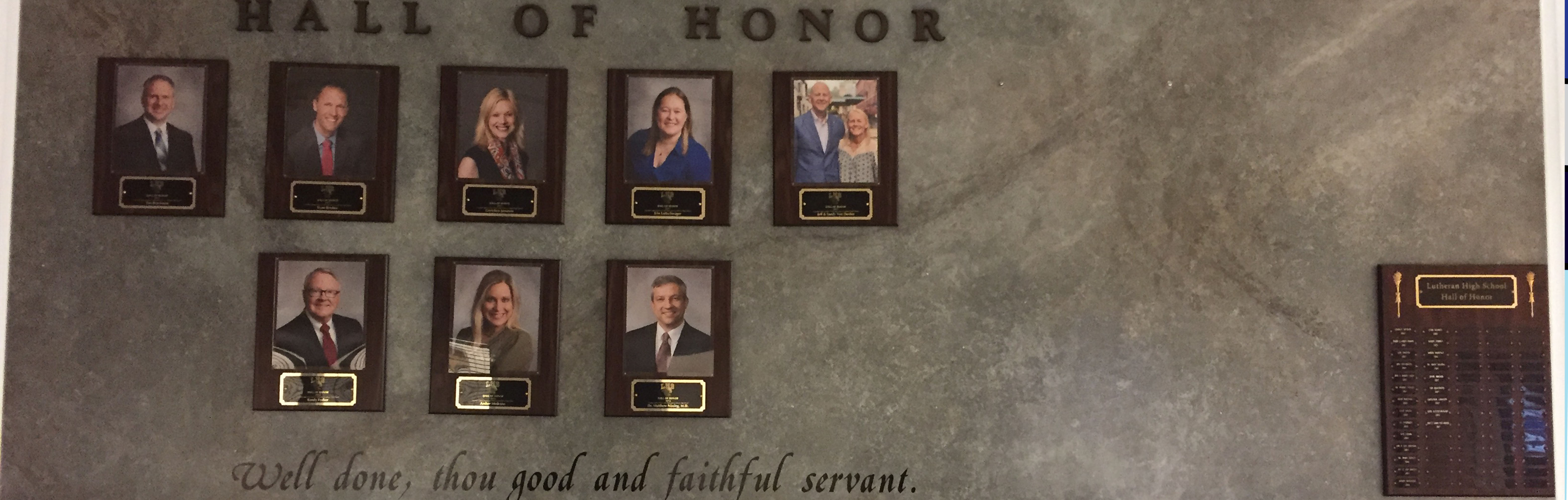 hall of honor banner